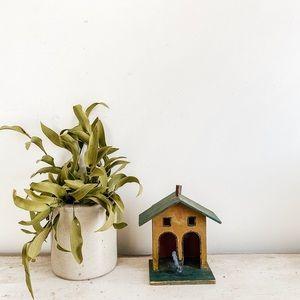 Cute handmade wood house
